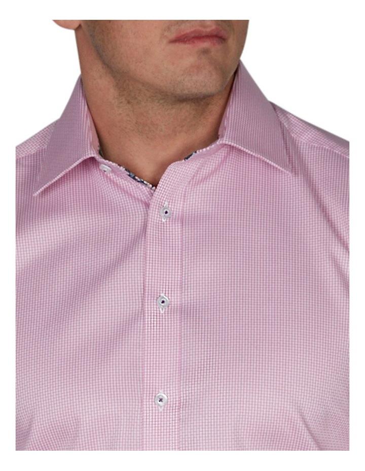 Basket-Weave Plain Business Shirt image 3