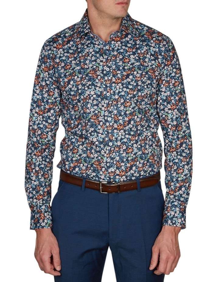 Asiatic Print Business Shirt image 1