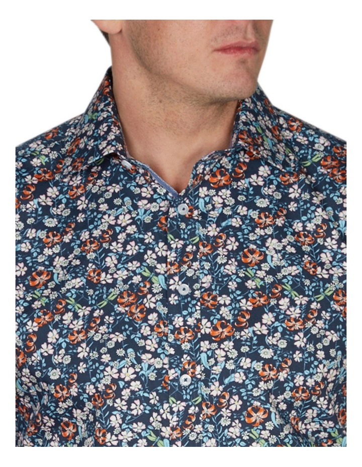 Asiatic Print Business Shirt image 3