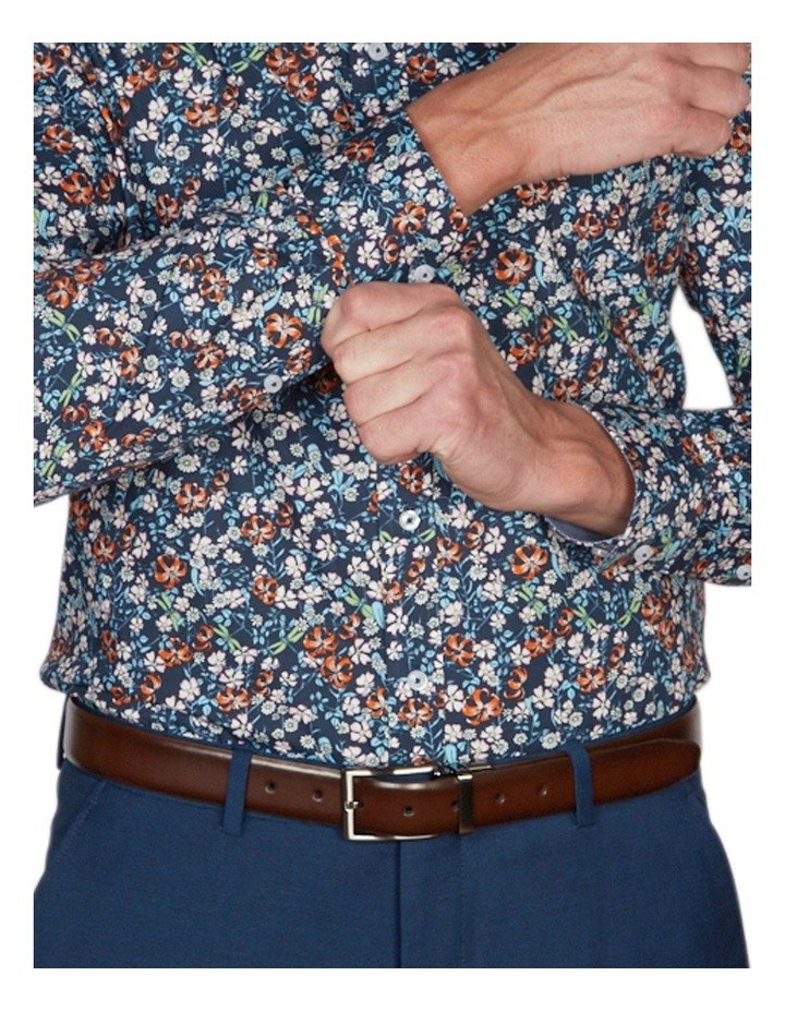 Asiatic Print Business Shirt image 4