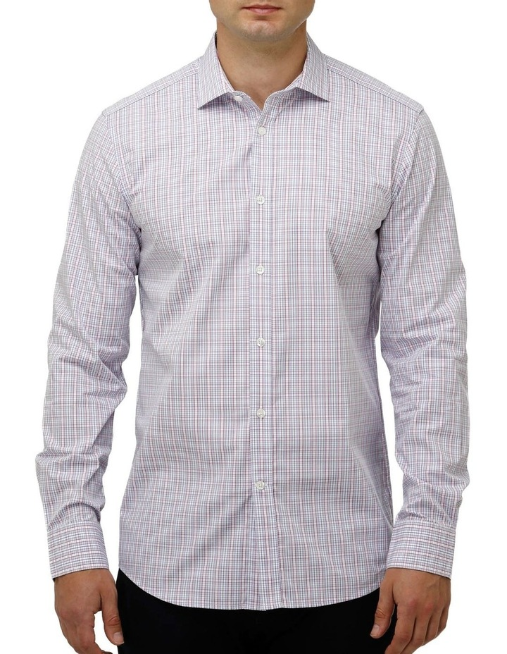 Multi Coloured Check Business Shirt image 1