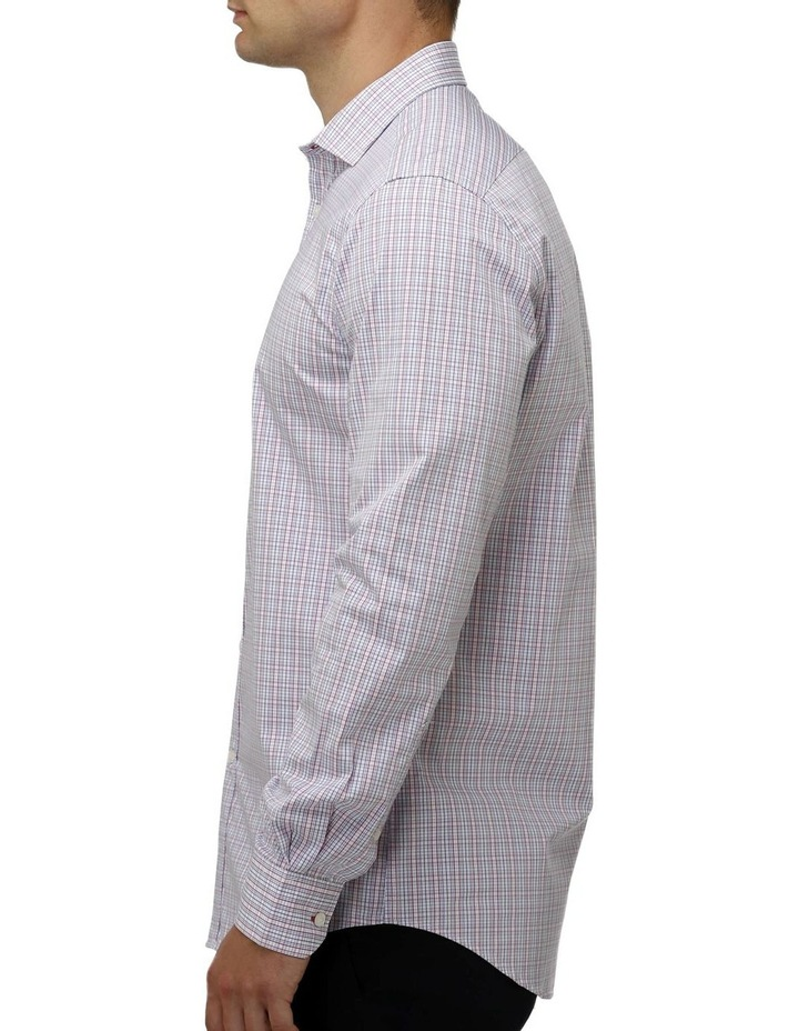Multi Coloured Check Business Shirt image 2