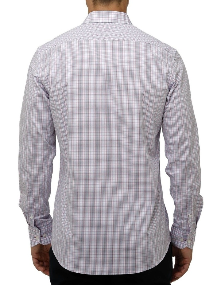 Multi Coloured Check Business Shirt image 3