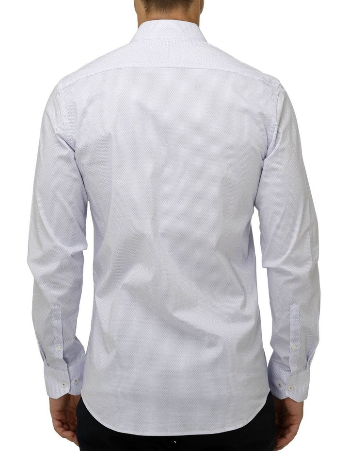 Stretch Double Dot Print Business Shirt image 3