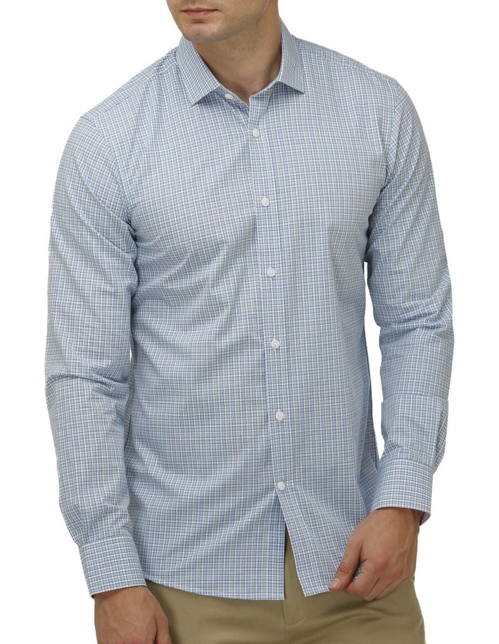 Houndstooth Check Business Shirt image 1
