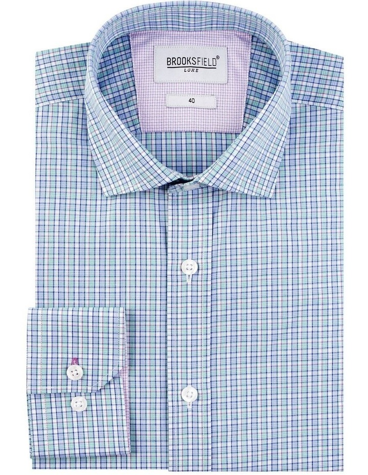 Houndstooth Check Business Shirt image 4