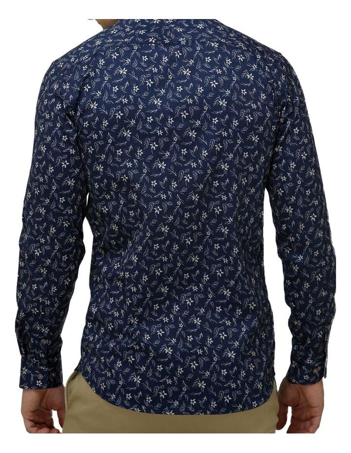 Floral Print Satin Business Shirt image 3