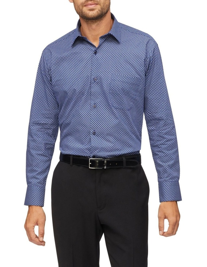 Geo Print Business Shirt image 2