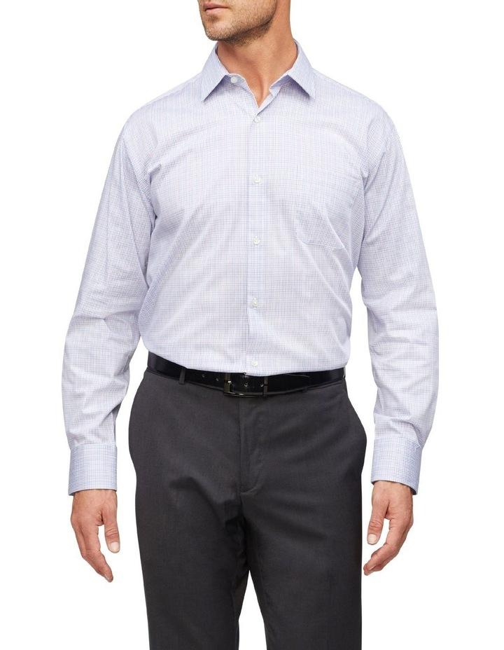 Small Check Business Shirt image 2