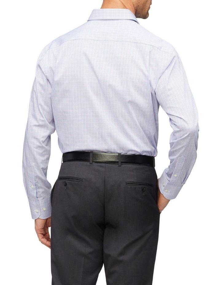 Small Check Business Shirt image 3