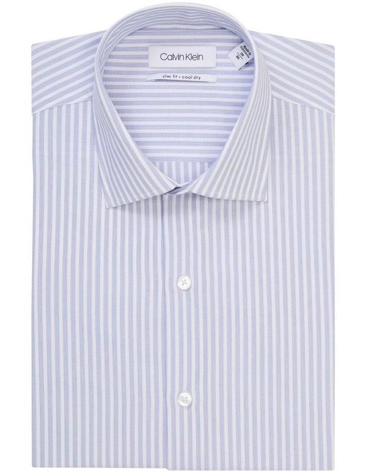 Blue & White Stripe Cotton Touch Shirt image 1