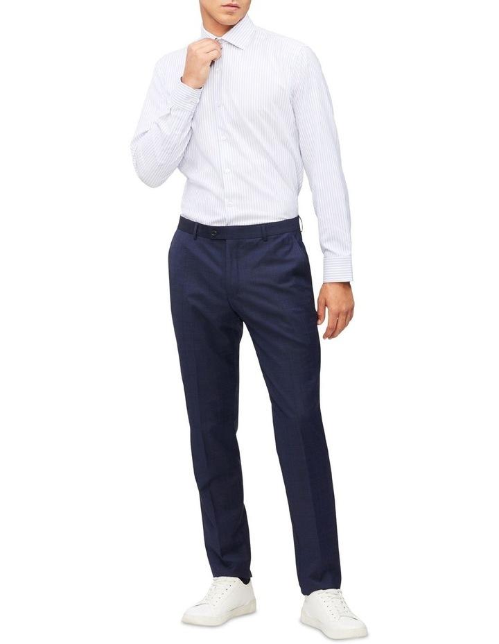 Blue & White Stripe Cotton Touch Shirt image 2