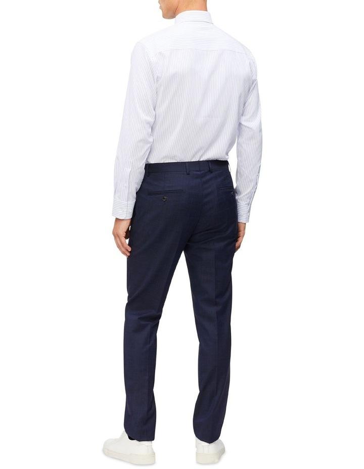 Blue & White Stripe Cotton Touch Shirt image 3