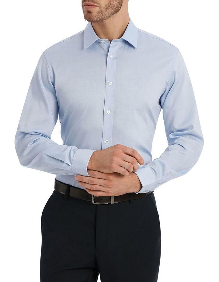 Core Textured Plain Business Shirt image 1