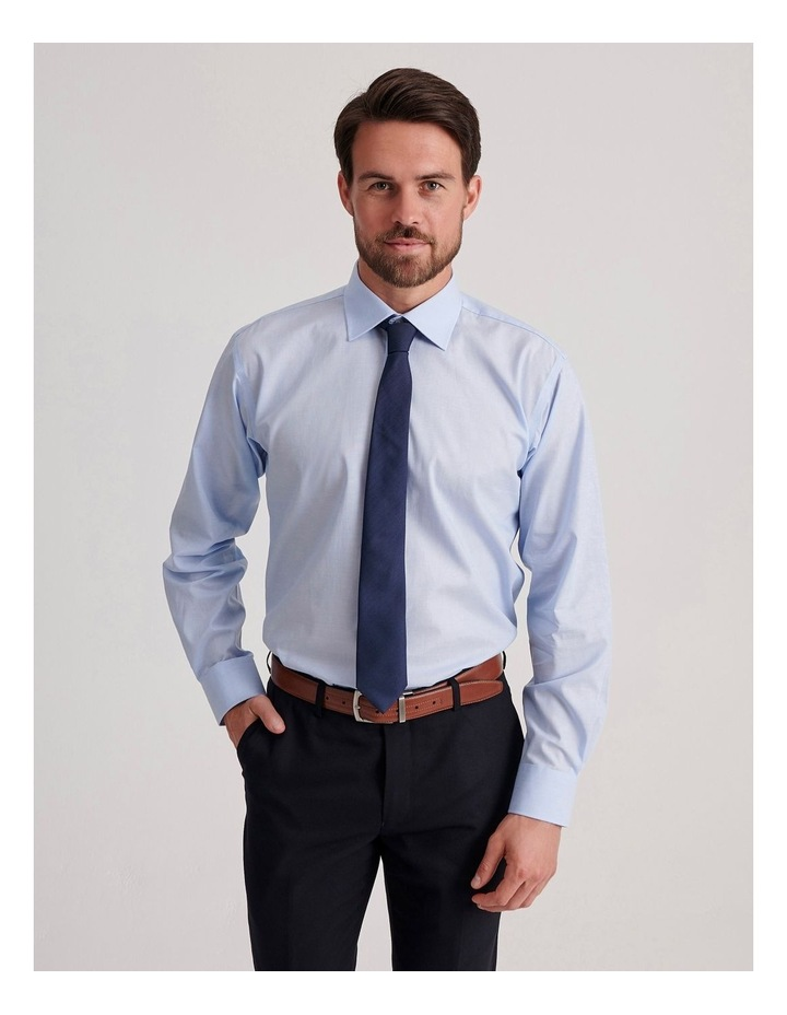 Tailored End On End Poplin Business Shirt image 1
