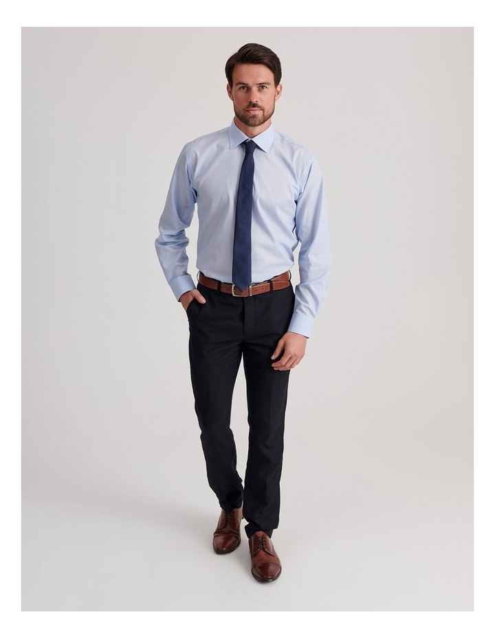 Tailored End On End Poplin Business Shirt image 2