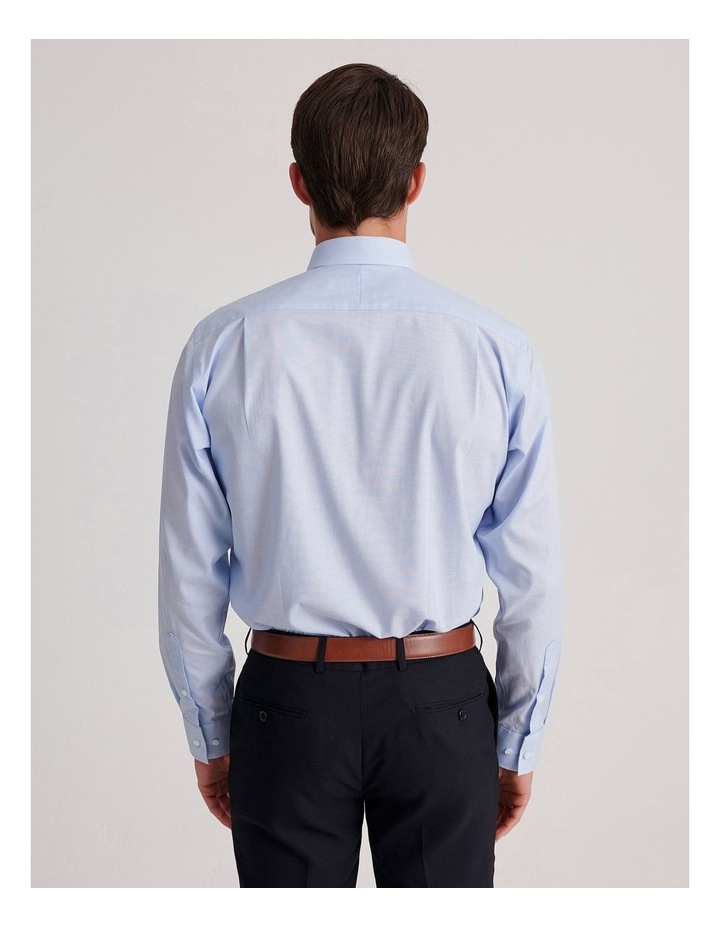 Tailored End On End Poplin Business Shirt image 4