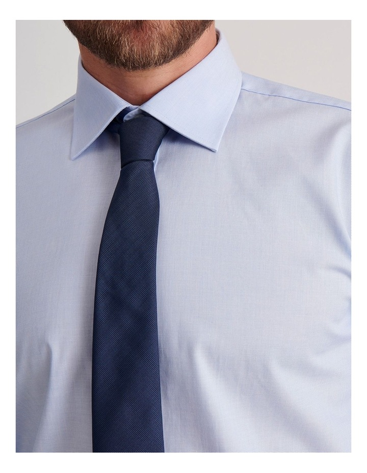 Tailored End On End Poplin Business Shirt image 5