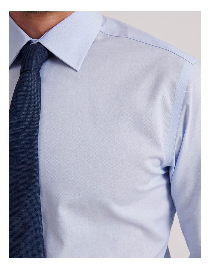 Slim End On End Poplin Business Shirt image 5