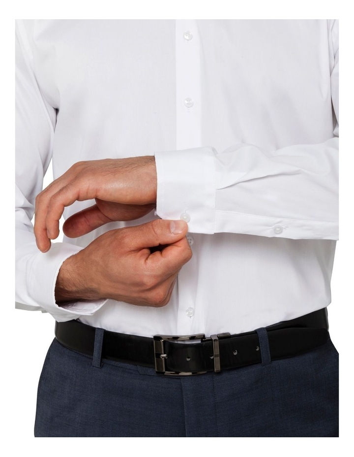 Solid Business Shirt image 4