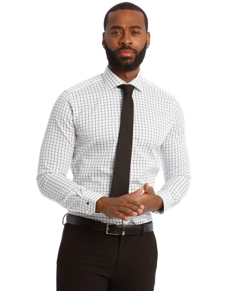 Twill Check Business Shirt image 1