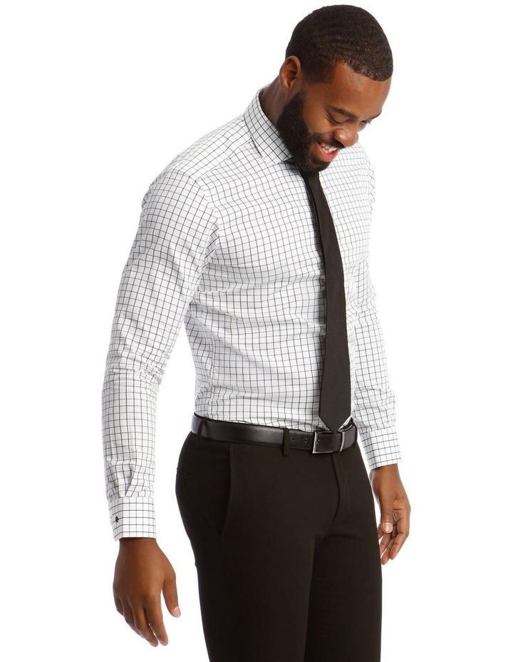 Twill Check Business Shirt image 2