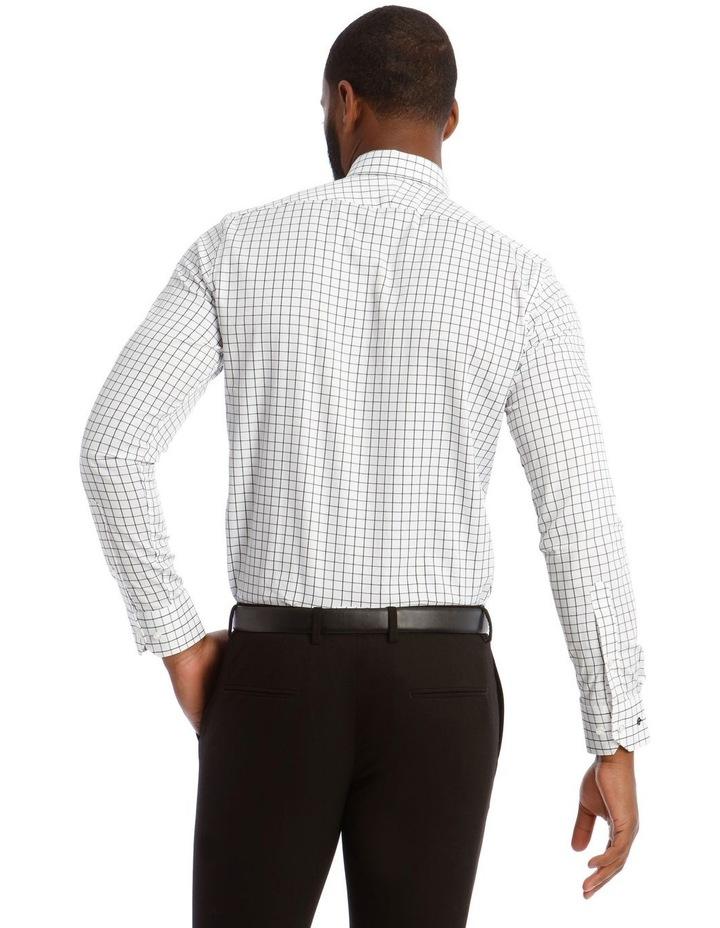 Twill Check Business Shirt image 3