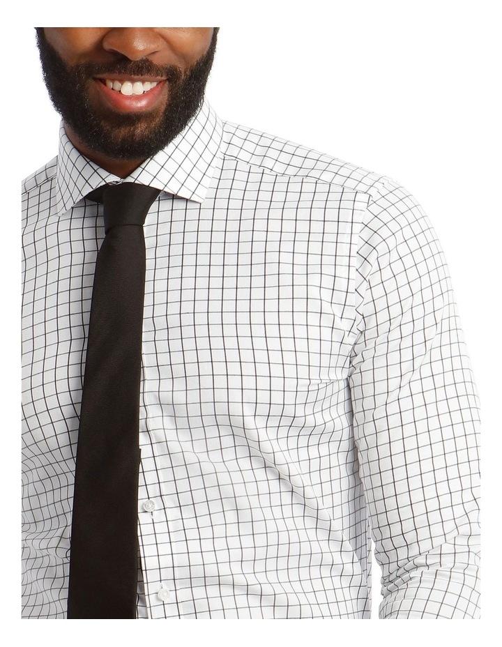 Twill Check Business Shirt image 4