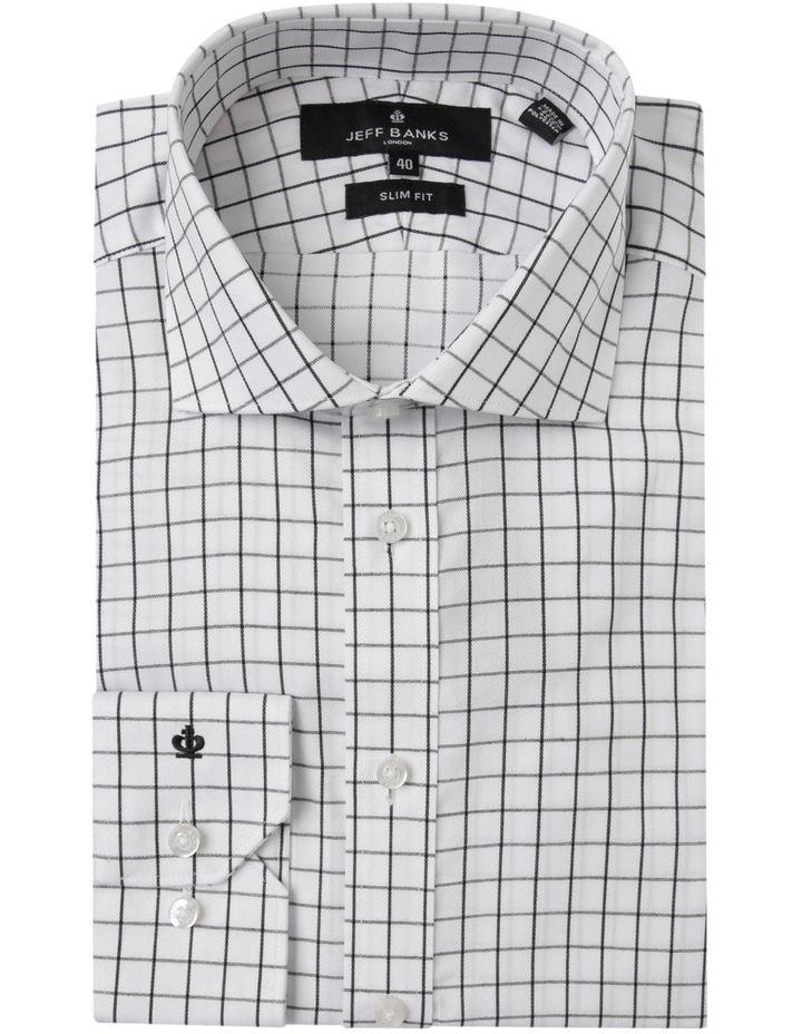 Twill Check Business Shirt image 5