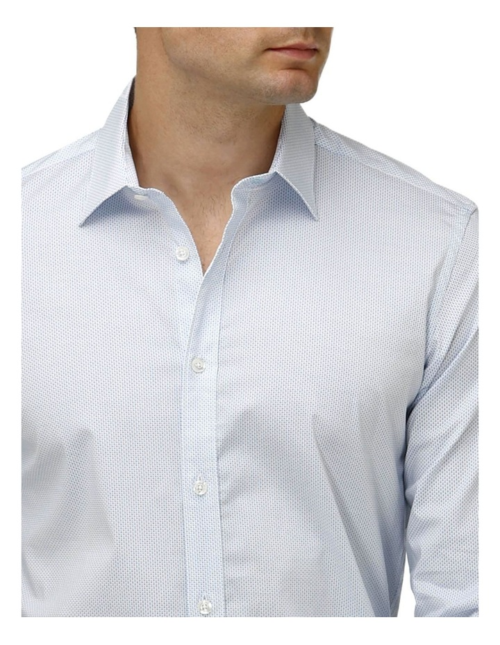 Stretch Double Dot Print Business Shirt image 2
