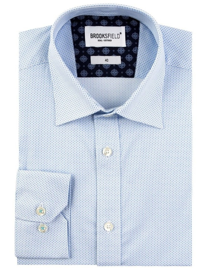Stretch Double Dot Print Business Shirt image 4