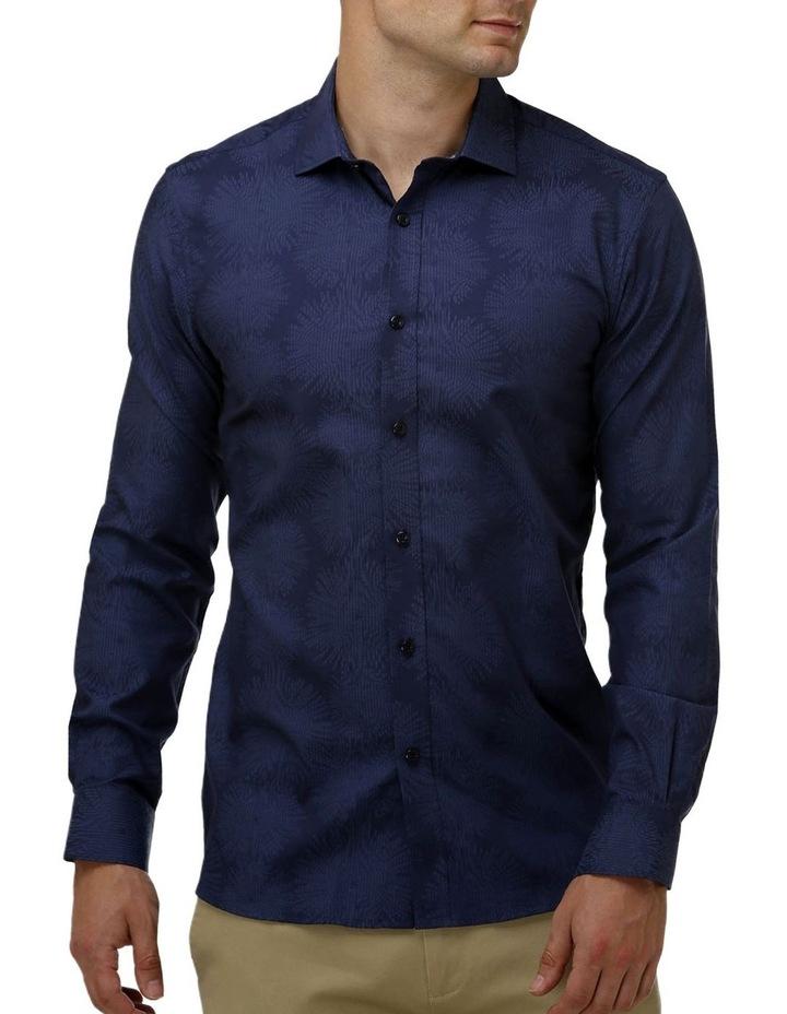 Tonal Jacquard Business Shirt image 1