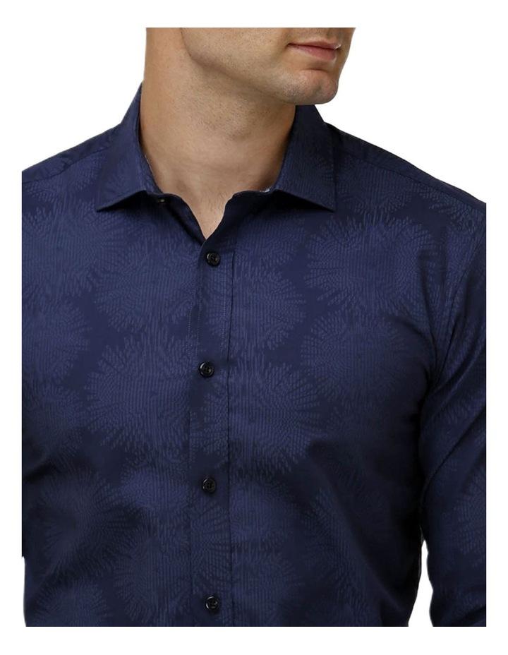 Tonal Jacquard Business Shirt image 2