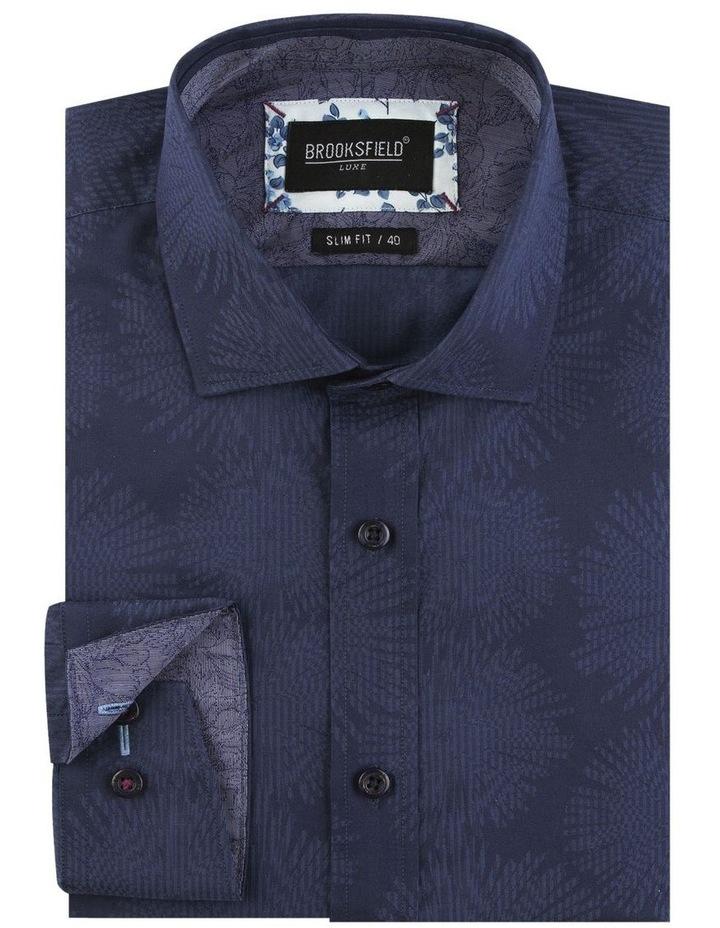 Tonal Jacquard Business Shirt image 4