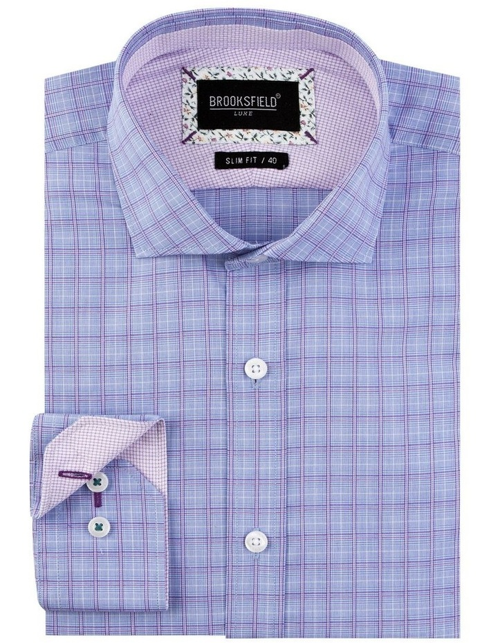 End on End Check Business Shirt image 4
