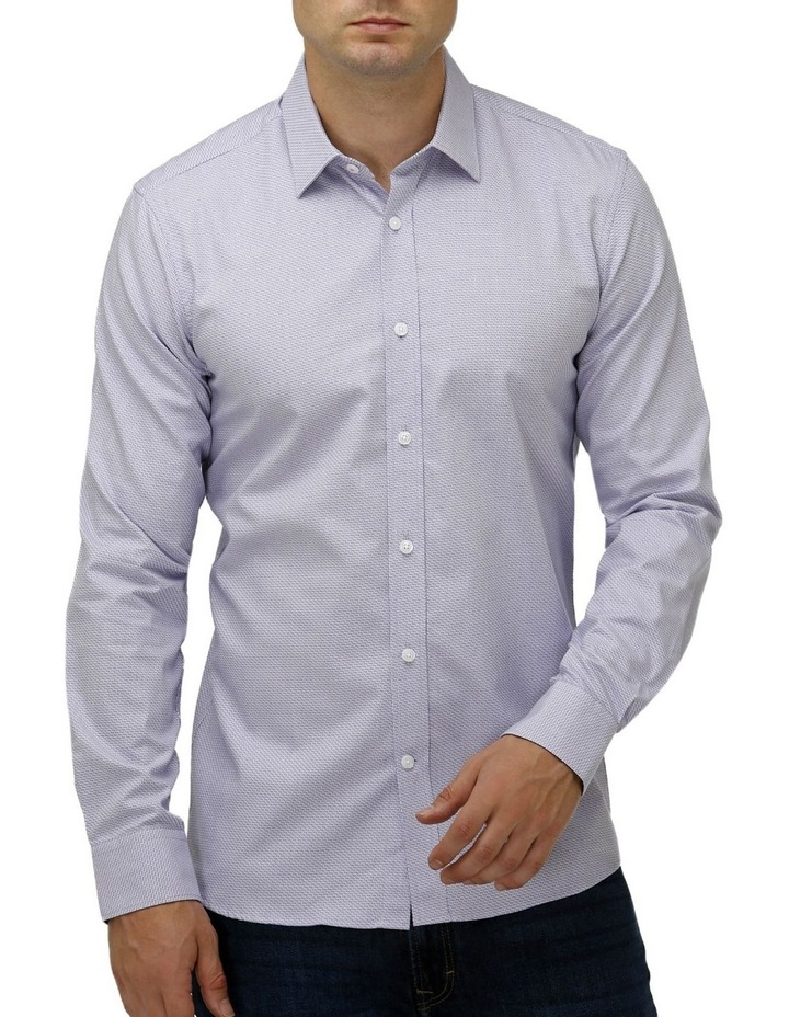 Intricate Weave Business Shirt image 1