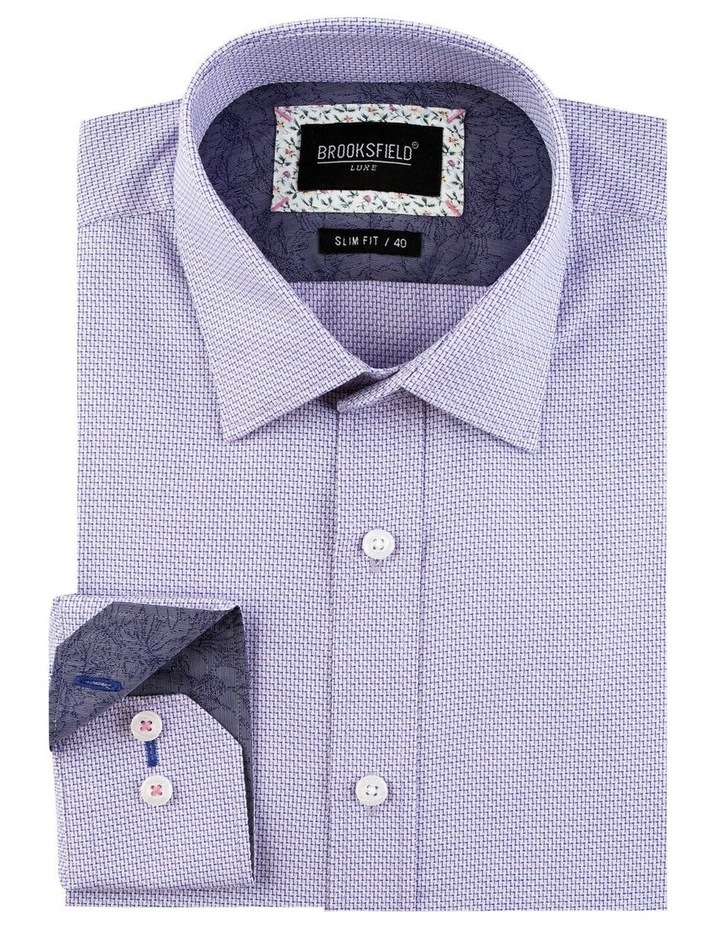 Intricate Weave Business Shirt image 4