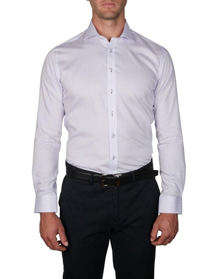 Melange Gingham Business Shirt image 1
