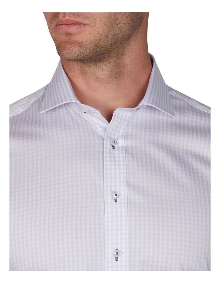 Melange Gingham Business Shirt image 2