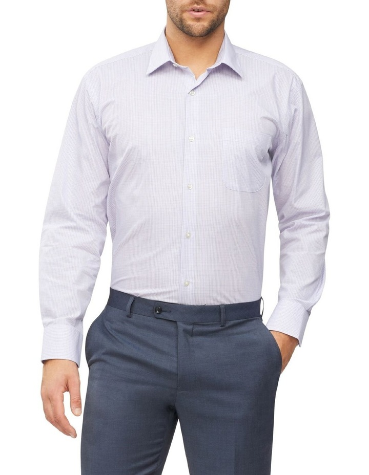 Check Business Shirt image 2