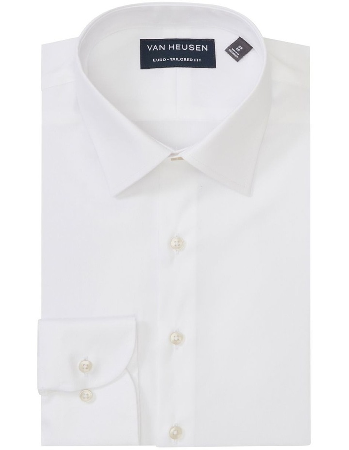 Solid Stretch Business Shirt image 1