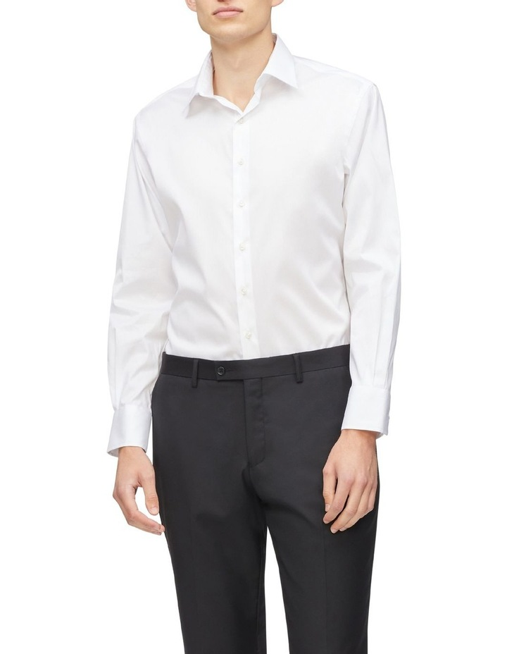 Solid Stretch Business Shirt image 2