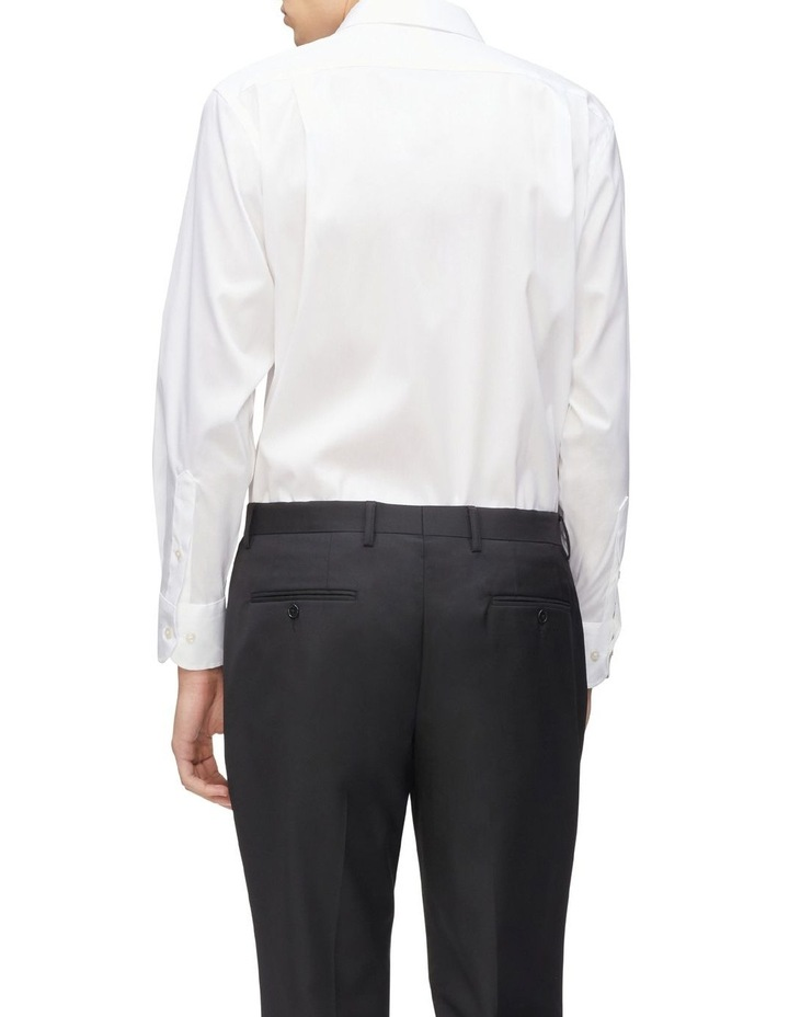 Solid Stretch Business Shirt image 3