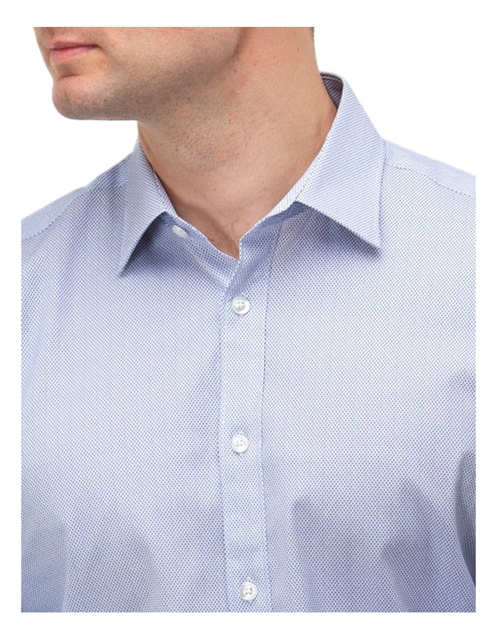Micro Print Reg Fit Business Shirt image 2