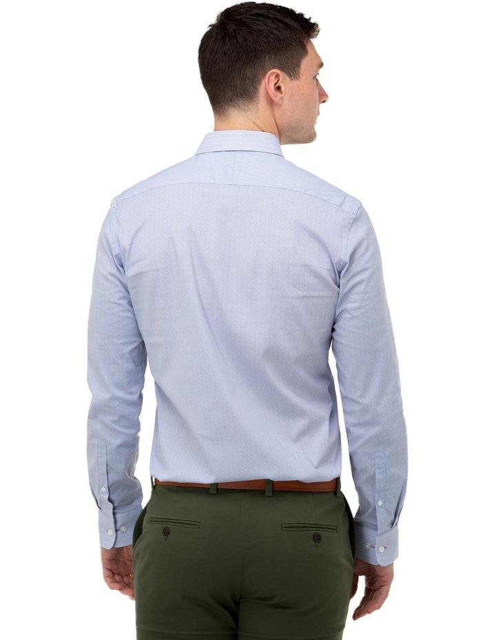 Micro Print Reg Fit Business Shirt image 3