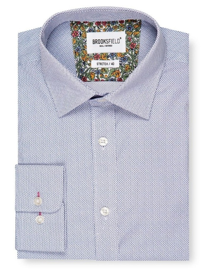 Micro Print Reg Fit Business Shirt image 4