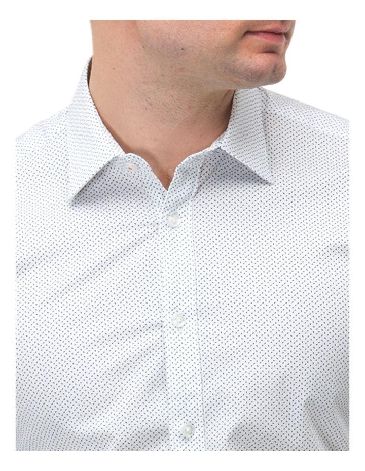 Micro Print Reg Fit Business Shirt image 2