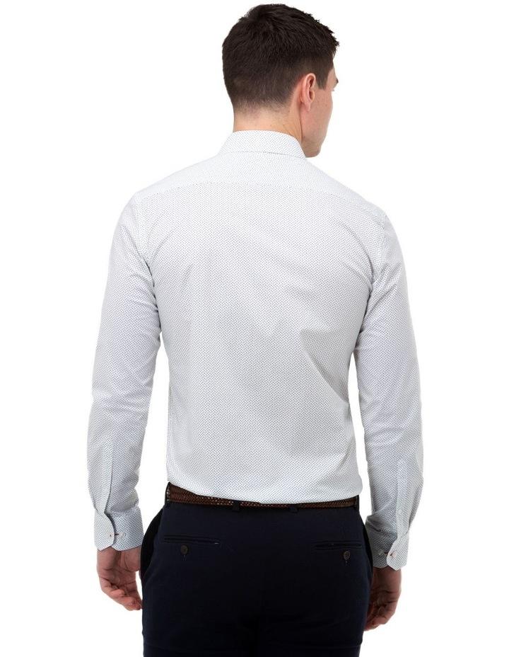 Micro Print Reg Fit Business Shirt image 3