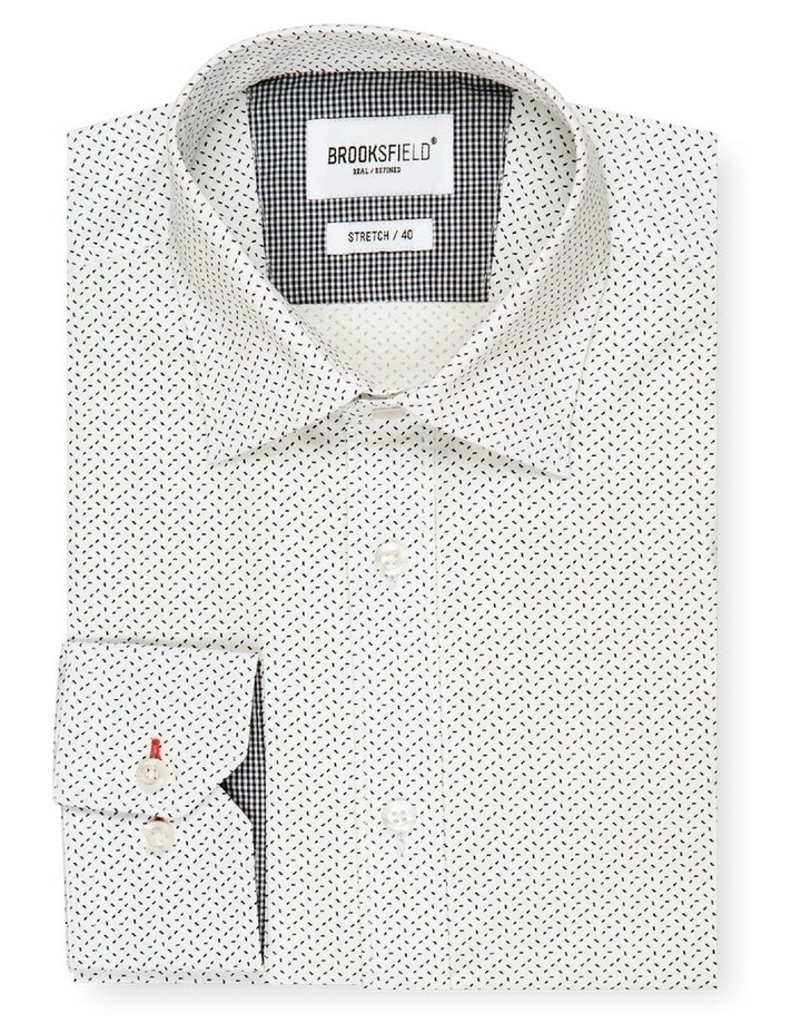 Micro Print Reg Fit Business Shirt image 4