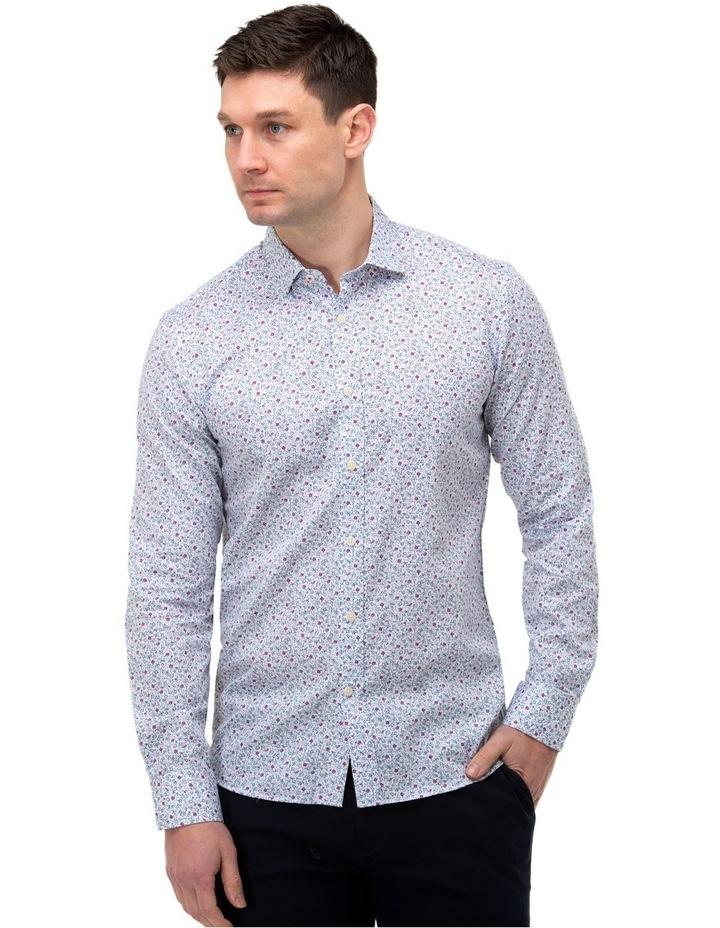 Floral Print Slim Fit Dress Shirt image 1